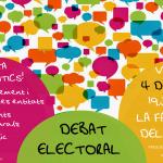 cartell debat electoral