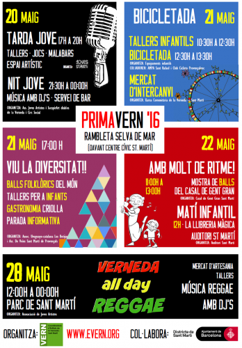 cartell primaVERN 2016